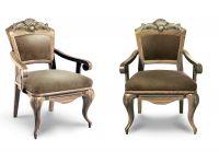 кресло император голд