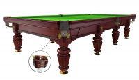 Бильярдный стол для русского бильярда «Dynamic Noble» 12 ф (махагон)